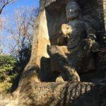 磨崖仏とクライマーを見ながら鷹取山~キッチンエベレスト~あづま湯♨