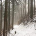 御岳山 雪のロックガーデンと御嶽神社の節分