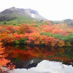 那須岳の紅葉を見に 2日目 三斗小屋温泉煙草屋旅館♨~姥ヶ平~那須湯本温泉鹿の湯♨