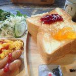 北八ヶ岳池めぐり 3日目 しらびそ小屋・朝食はもちろんトースト、リスと一緒に